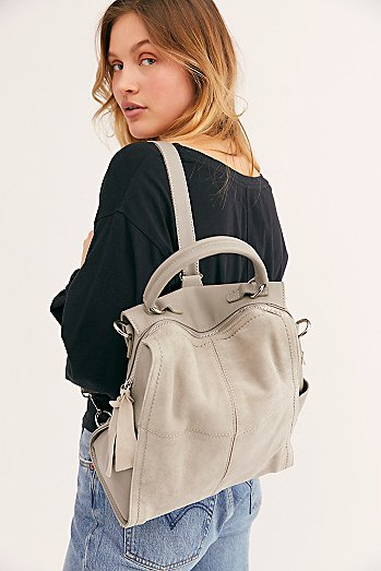 Abbie Suede Backpack