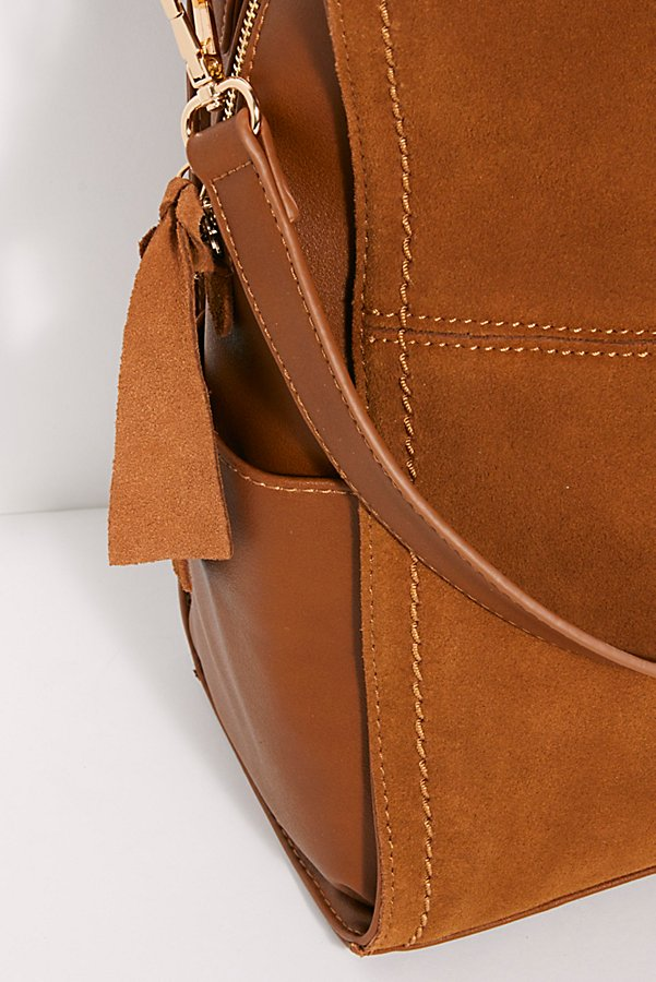 Slide View 5: Abbie Suede Backpack