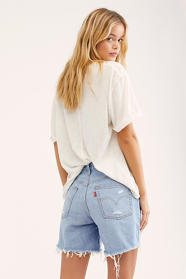 Slide View 2: Levi's 501 Long Denim Shorts