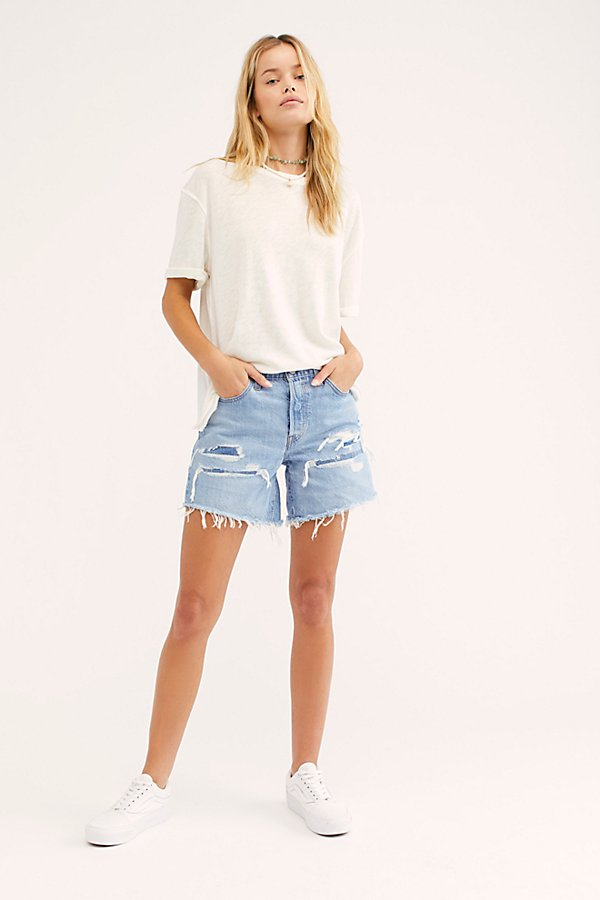 Slide View 4: Levi's 501 Long Denim Shorts