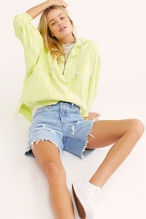 Slide View 5: Levi's 501 Long Denim Shorts