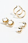 Thumbnail View 1: Celina Hoop Earring Set