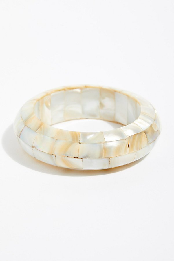 Slide View 2: Abalone Bangle