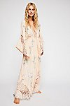 Thumbnail View 1: I Am Lola Embroidered Maxi Dress