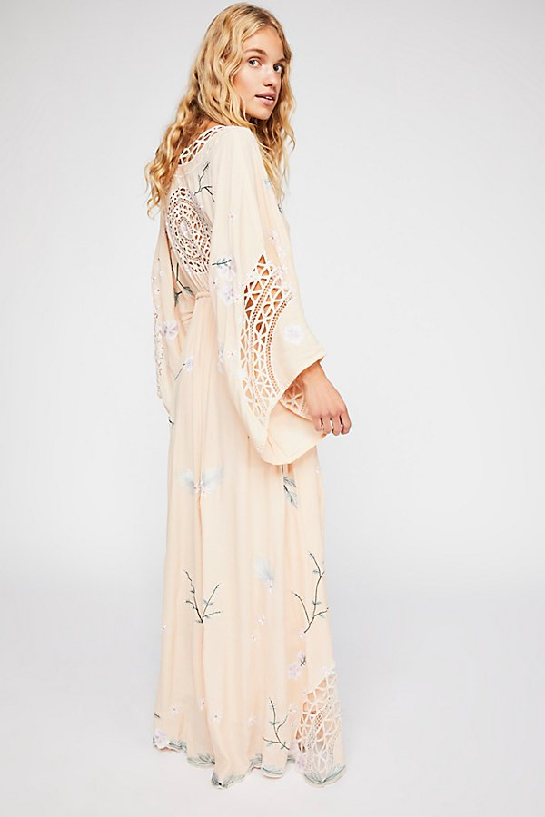 Slide View 2: I Am Lola Embroidered Maxi Dress