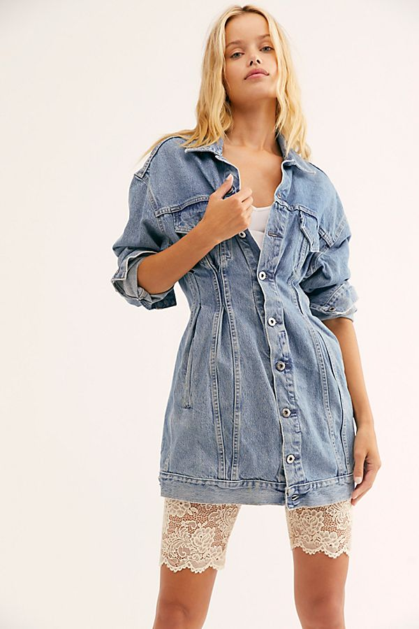 Levi's Made &Amp; Crafted Denim Trucker Dress by Levi's Made & Crafted