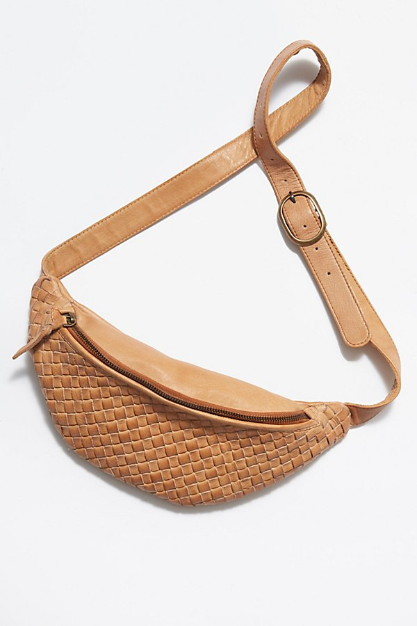 Slide View 2: Woven Crossbody Belt Bag