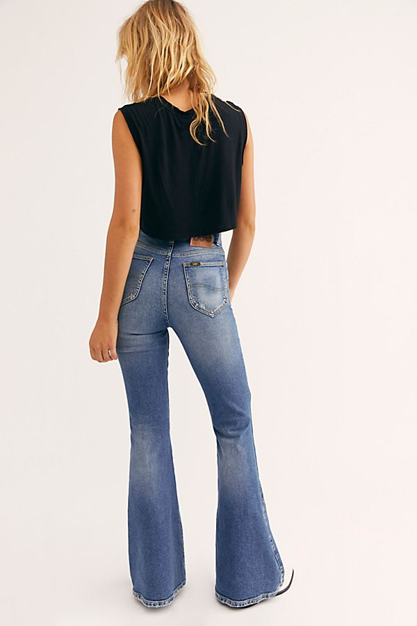 shop for luxury big discount of 2019 professional Lee High-Rise Flare Jeans