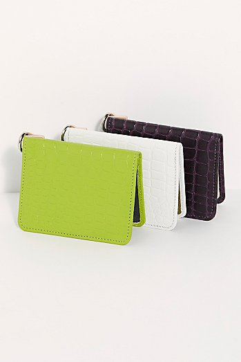 Polly Embossed Wallet