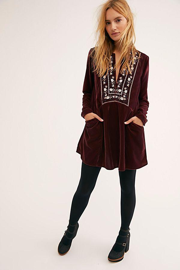 38351bca28b Always Forever Velvet Mini Dress