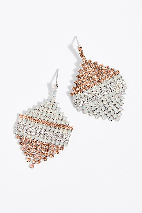 Slide View 2: Aria Asymmetric Earrings