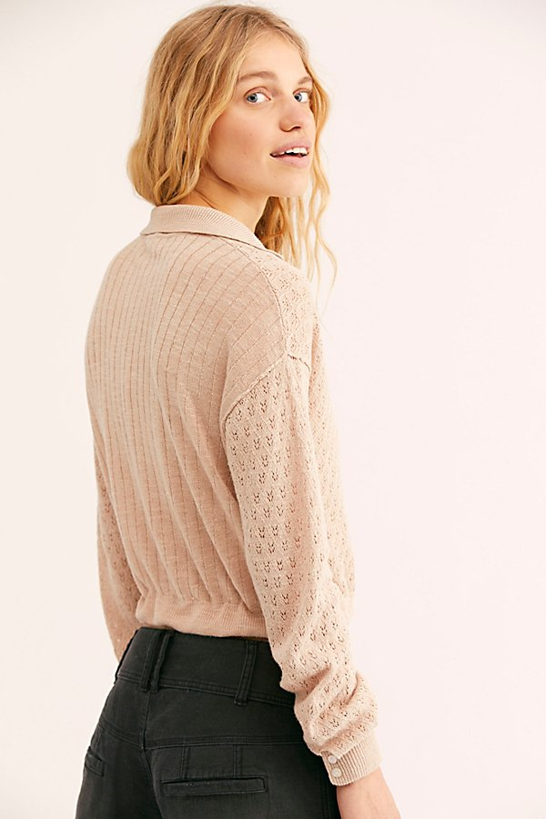 Slide View 2: Betty Tie-Front Sweater