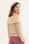 Thumbnail View 2: Crazy In Love Ruffle Sweater