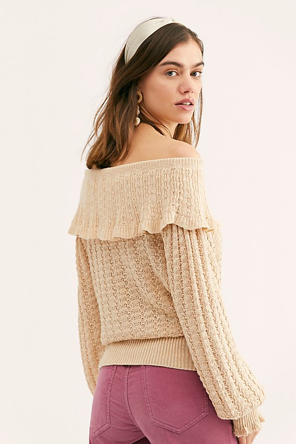 Slide View 2: Crazy In Love Ruffle Sweater