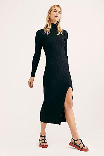 03286752e9f Luna Ribbed Dress