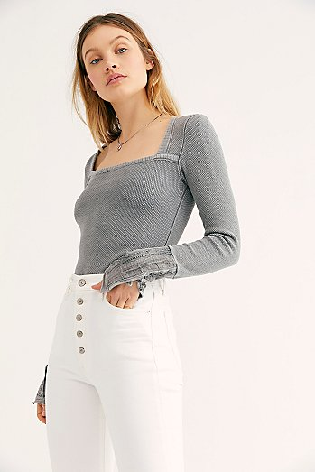 Give A Little Love Cuff Top