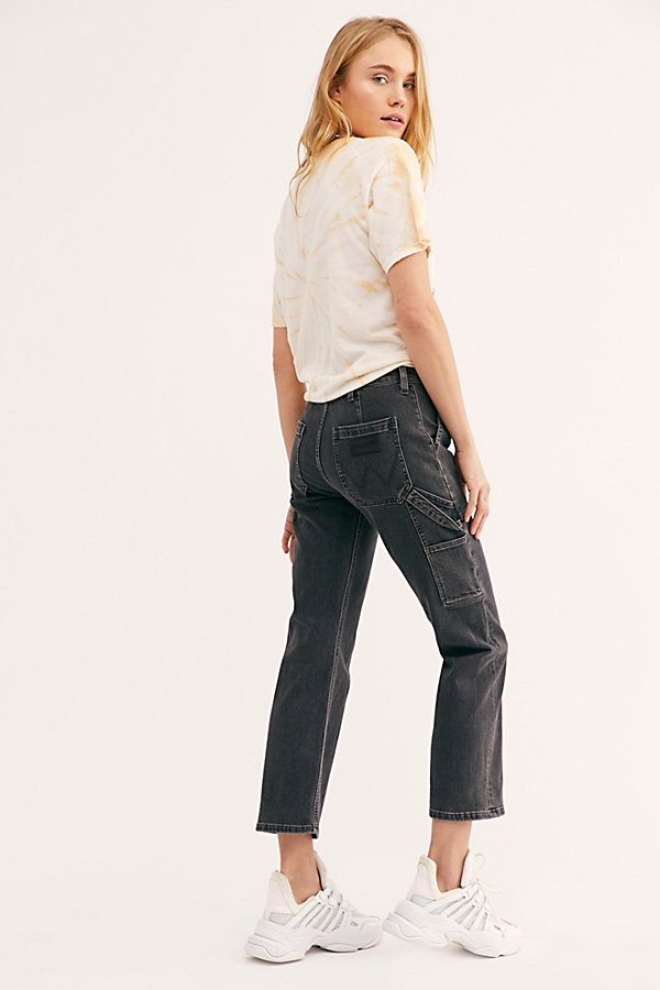 Slide View 2: Wrangler Carpenter Crop Jeans