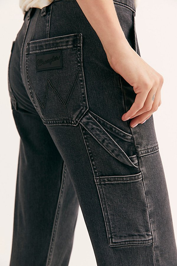 Slide View 3: Wrangler Carpenter Crop Jeans