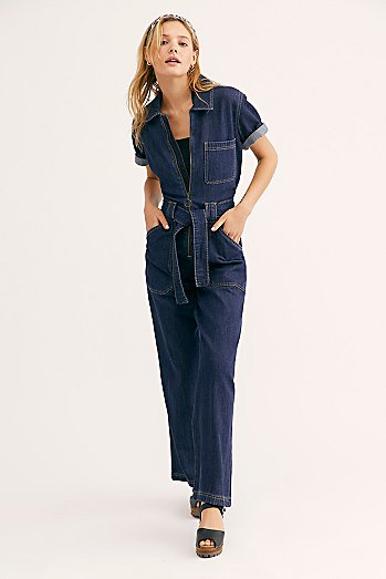 Wrangler Denim Coveralls