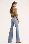 Thumbnail View 1: Wrangler Seamed Flare Jeans