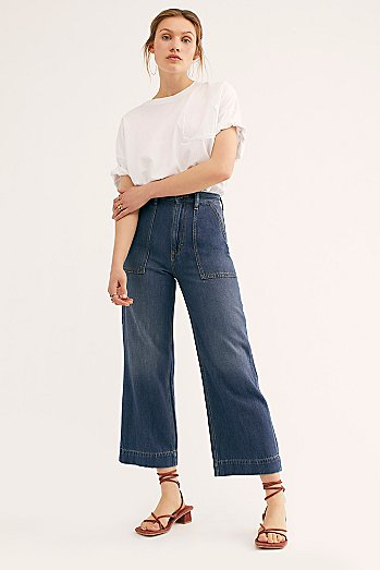 Wrangler Utility Crop Jeans