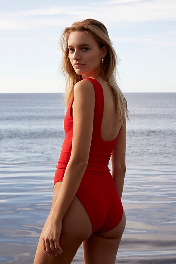 Slide View 2: Kim One-Piece Swimsuit with Belt