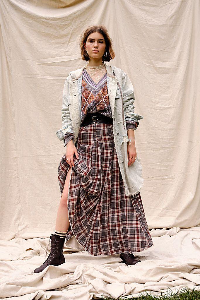 Lily Cotton Maxi Skirt