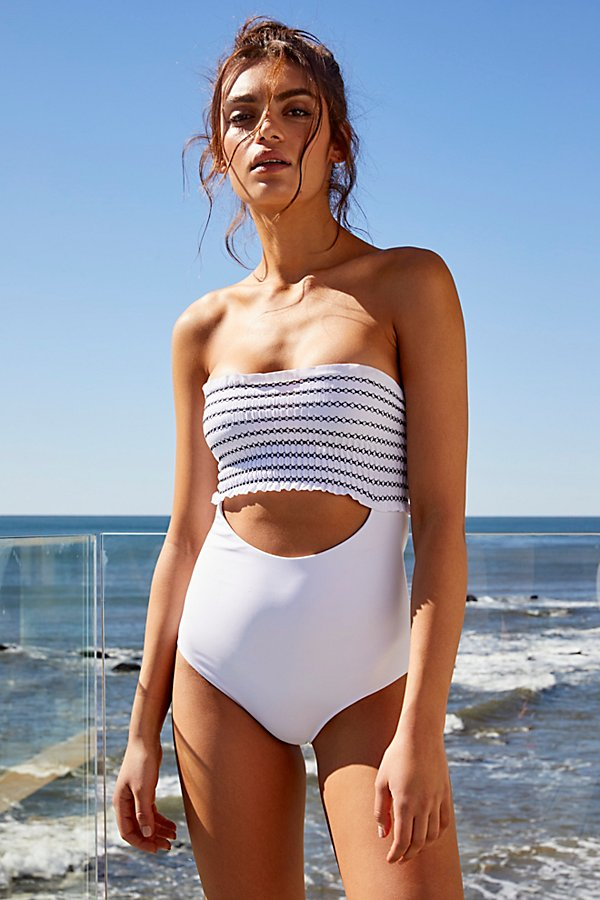 Slide View 1: Saige One-Piece Swimsuit