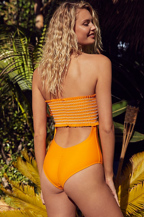 Slide View 3: Saige One-Piece Swimsuit