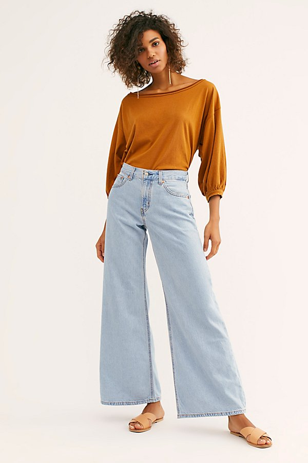 Slide View 1: Levi's Super Wide-Leg Jeans
