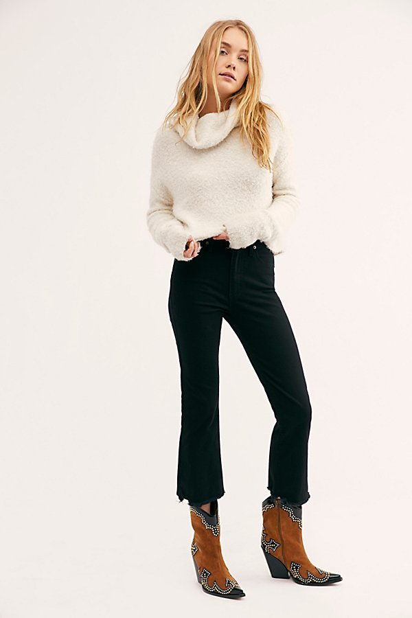 Slide View 1: Levi's Mile High Crop Flare Jeans