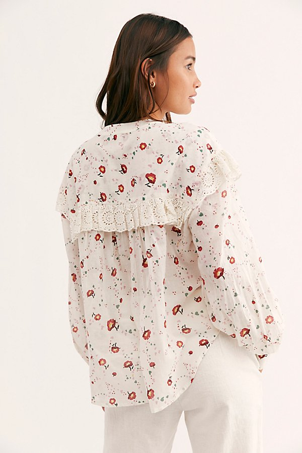 Slide View 2: Falling For You Printed Blouse