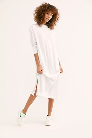 Day Off T Shirt Midi Dress by Free People
