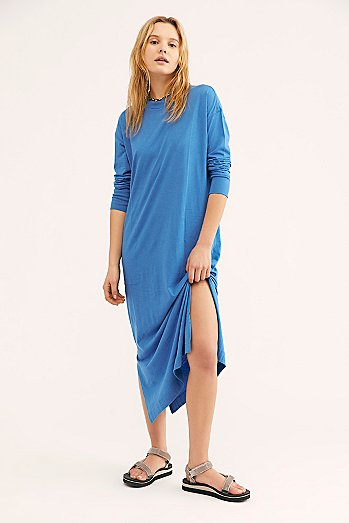 Day Off T-Shirt Midi Dress