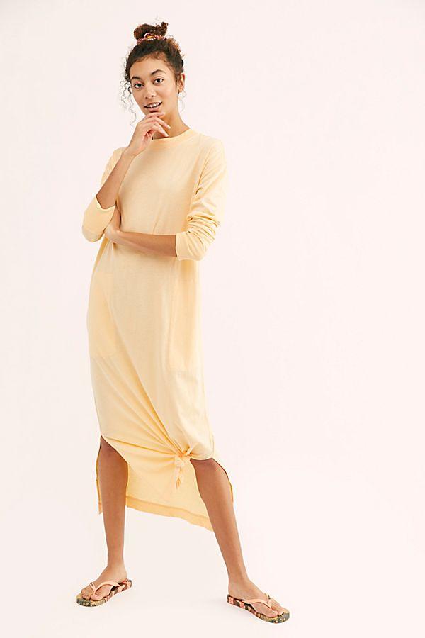 0c4ea7d8e10849 Slide View 1: Day Off T-Shirt Midi Dress