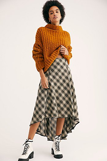 Northwest Plaid Skirt