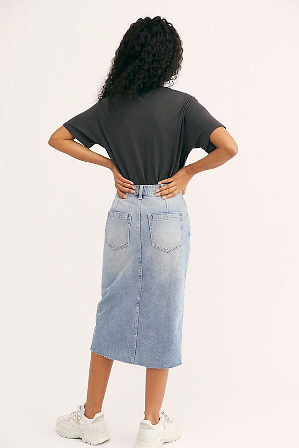 2a36fa9e30 Slide View 2: We The Free Wilshire Denim Skirt