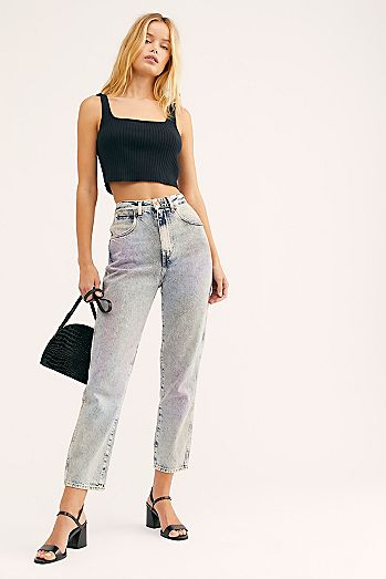 ce423b75433 Wrangler Womens High Rise Jeans & High Waisted Jeans | Free People