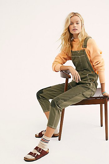 Olive Dungarees