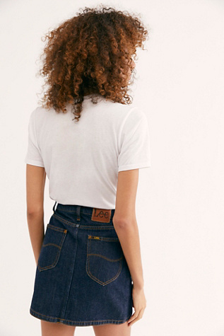 Lee Mini Skirt by Lee