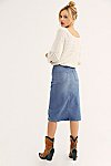 Thumbnail View 2: Maddie Denim Midi Skirt