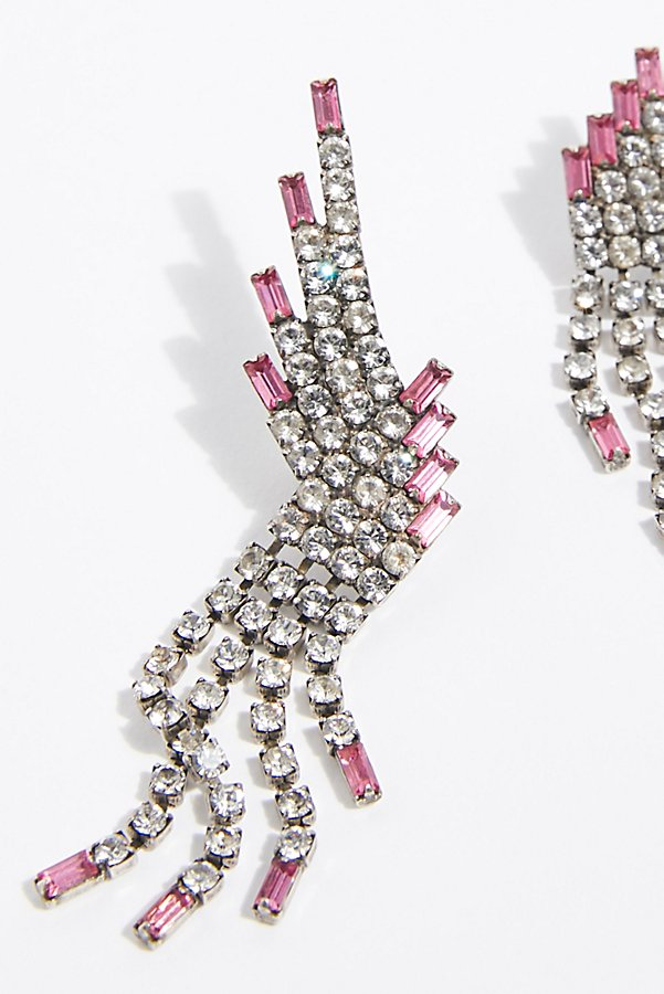 Slide View 3: Reina Rhinestone Earrings