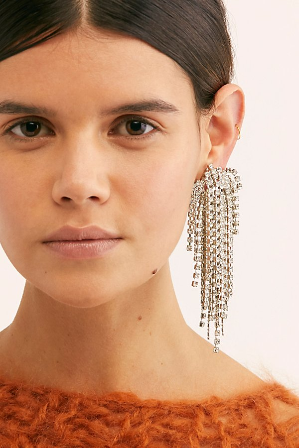 Slide View 3: Esme Rhinestone Earrings