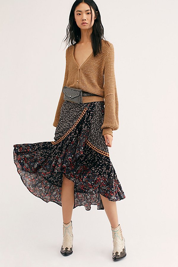 Slide View 1: Esmeralda Printed Skirt
