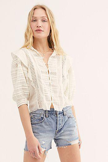 1b853d134152c Shop Lace Shorts   High Waisted Shorts