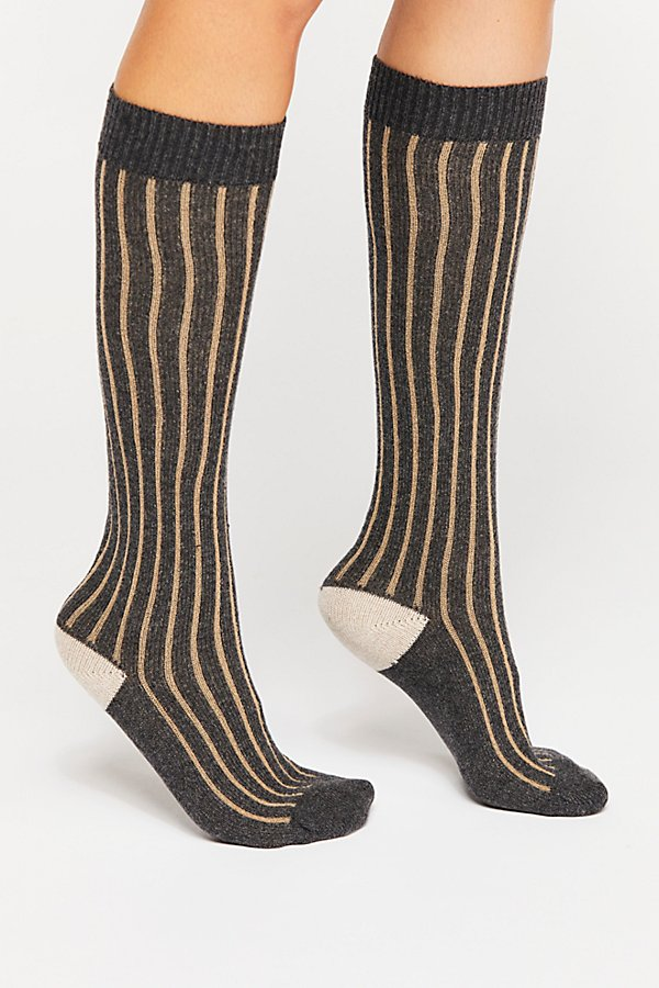 Slide View 2: Cambridge Cashmere Knee High Sock