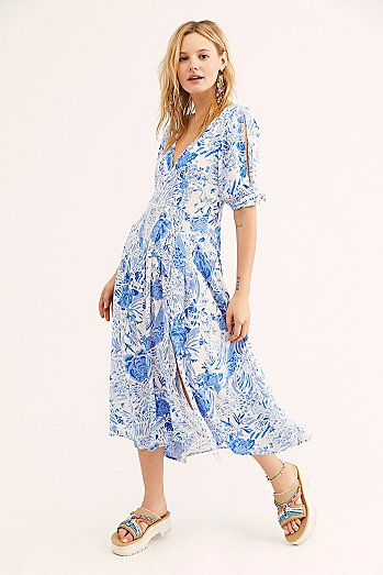 Forever Always Midi Dress