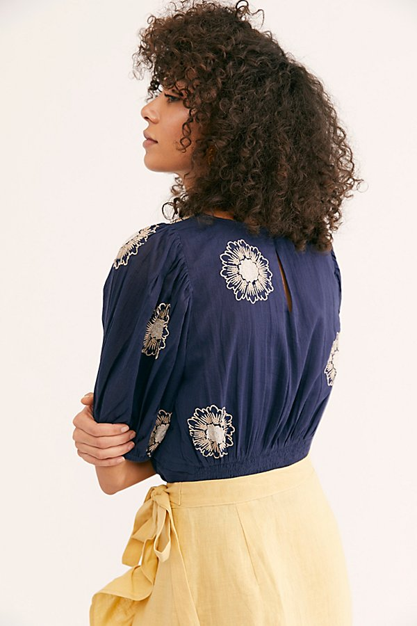 Slide View 2: My Girl Embroidered Blouse