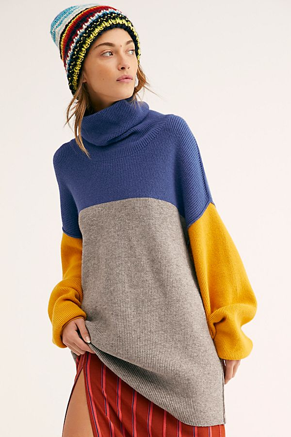 490ba8ec914 Softly Structured Color-Blocked Tunic | Free People