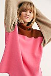 Thumbnail View 1: Softly Structured Color-Blocked Tunic